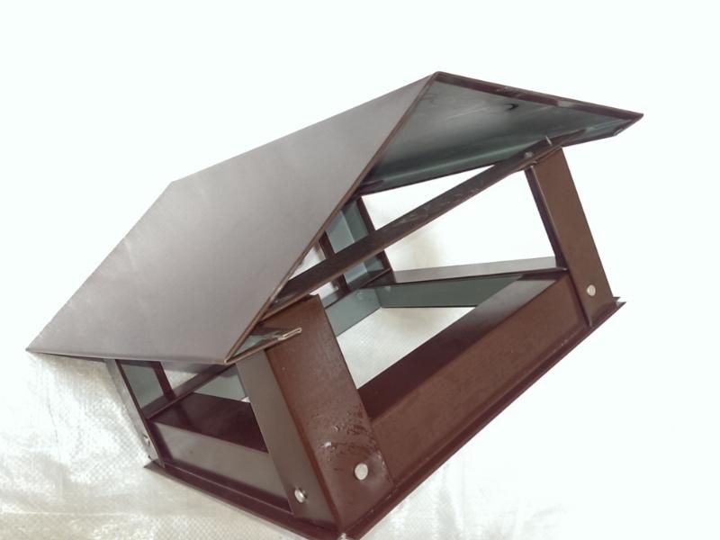 Capac triunghiular mic(d170) - cafeniu