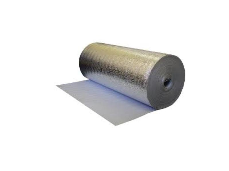 PEE folie 10 mm*1 m H + Aluminiu (30m/rul)